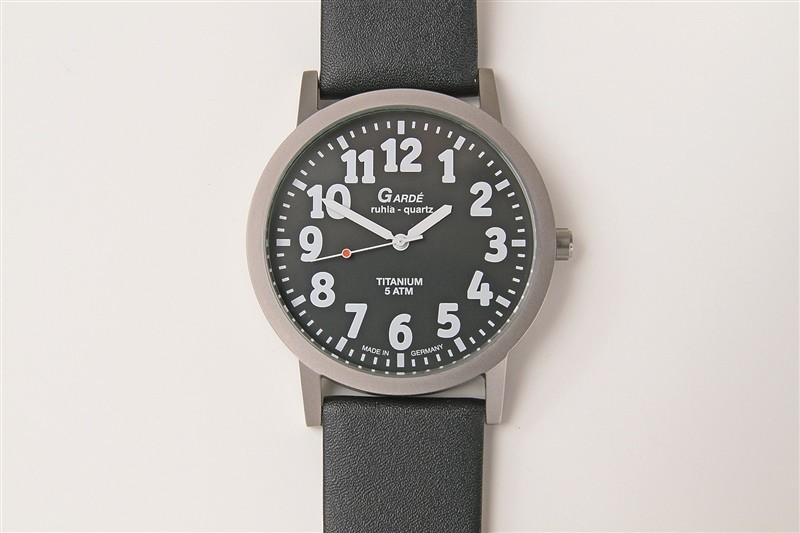 Heren horloge slechtzienden