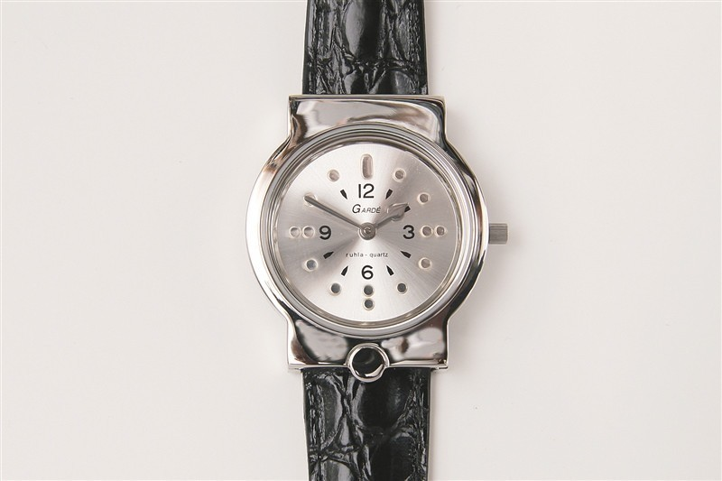 Braille heren horloge