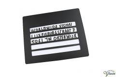 Handschriftgeleider voor enveloppen
