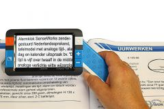 Compact+ HD mobiele elektronische handloep met geintegreerde camera