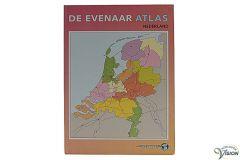 Evenaar atlas met Nederland