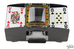 Kaartenschudmachine met automatische bediening