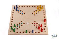 Mens-erger-je-niet, Super Jumbo, houten spel