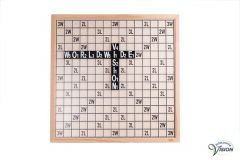 SenseWorks Scrabble-XL voor slechtzienden, bordmaat 60 x 60 cm.