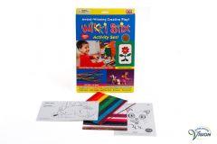 Wikki Stix, tast-/educatiespel met gekleurde, antislip staafjes