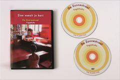 """CD/DVD """"ZIEN VANUIT JE HART"""", yoga en bewustwordingsoefeningen"""