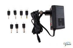 Adapter Compit EP1, universele van 1.5 tot 9 Volt/300mA