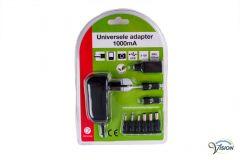 Adapter 6 Volt/1000mA voor diverse producten