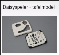 Daisyspeler tafelmodel dyslexie