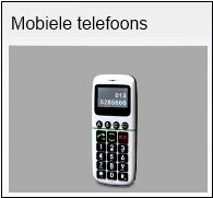 Mobiele telefoons slechthorenden